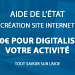 Aide de l'état pour créer votre site internet