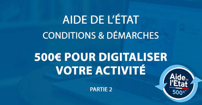 You are currently viewing Aide de l'état pour créer votre site internet – Partie 2